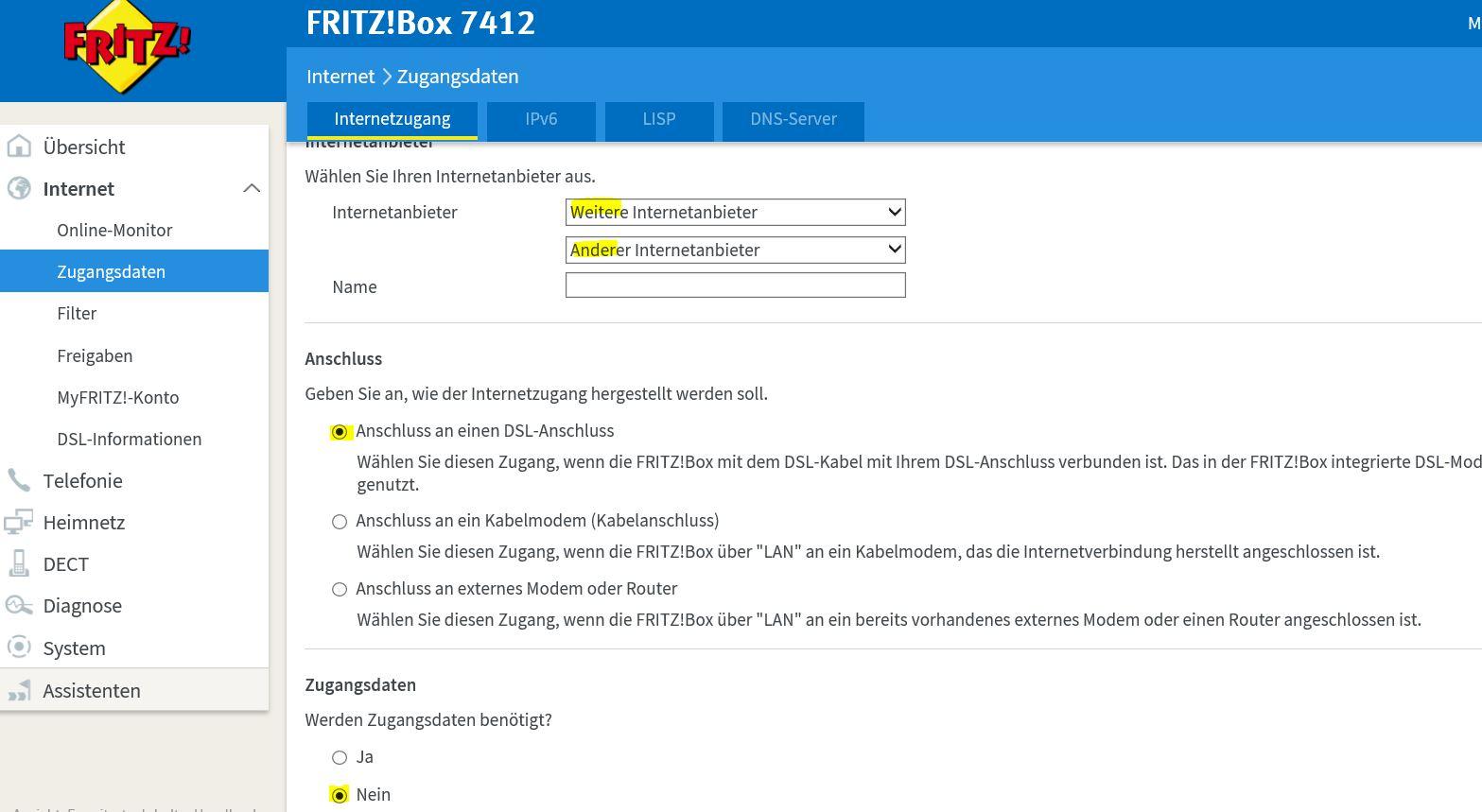 FritzBox 20 Modem Bridge Mode PPPoE Passthrough – Deer IT
